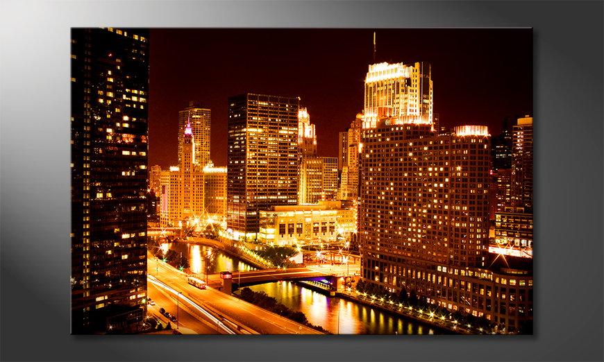 El cuadro moderno East River