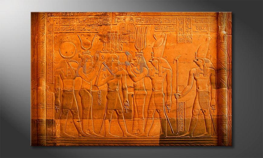 El cuadro moderno Egypt