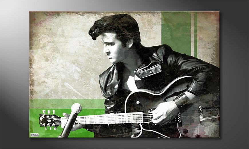 El cuadro moderno Elvis