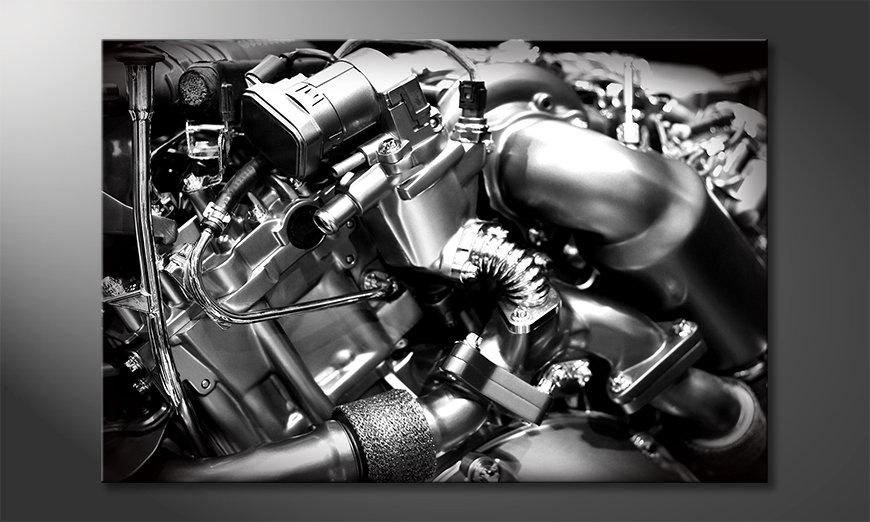 El cuadro moderno Engine