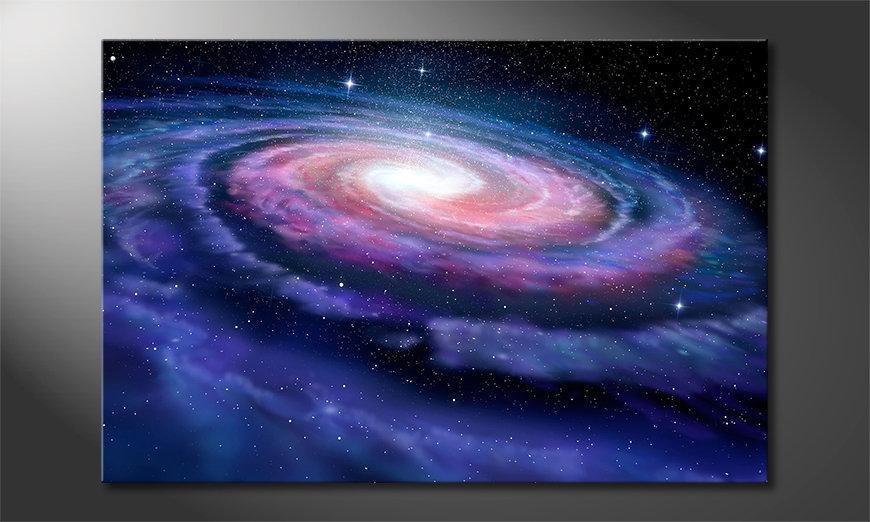 El cuadro moderno Far Galaxy