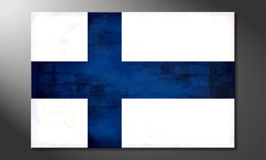 El cuadro moderno Finlandia