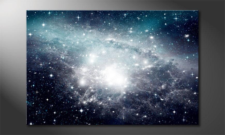 El cuadro moderno Galaxy