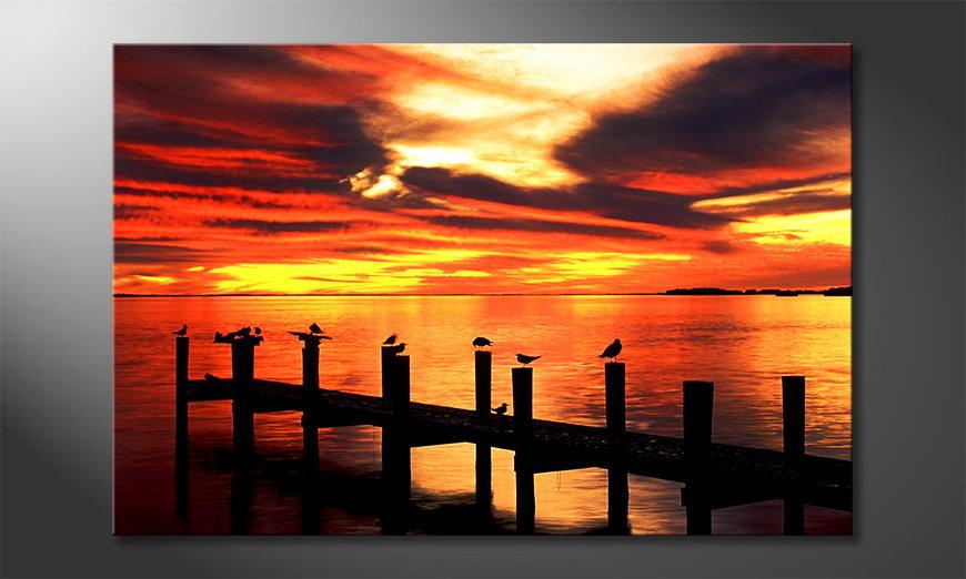 El cuadro moderno Glowing Sky
