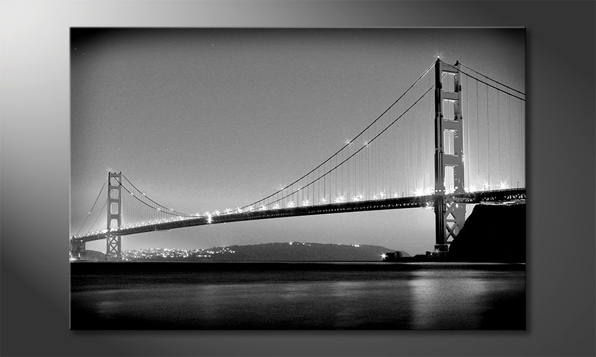 El cuadro moderno Golden Gate