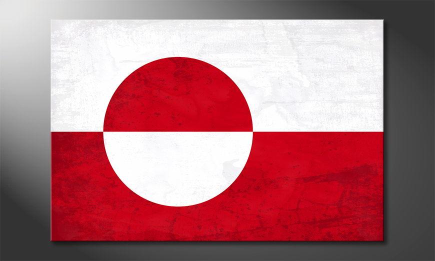 El cuadro moderno Grönland