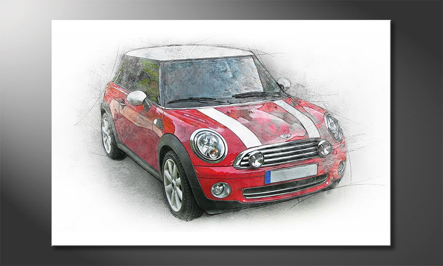 El cuadro moderno Great Mini