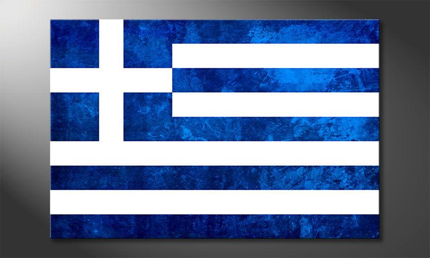 El cuadro moderno Grecia