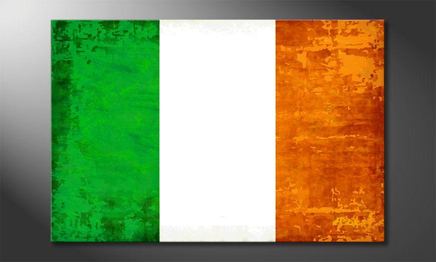 El cuadro moderno Irelanda