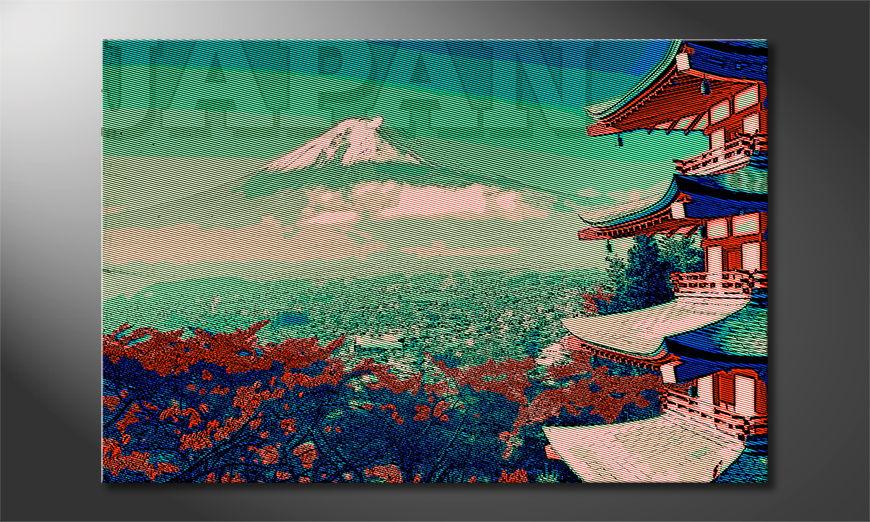El cuadro moderno Japan