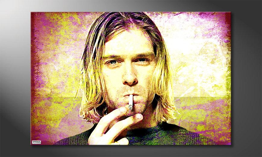 El cuadro moderno Kurt