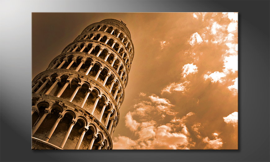 El cuadro moderno Leaning Tower