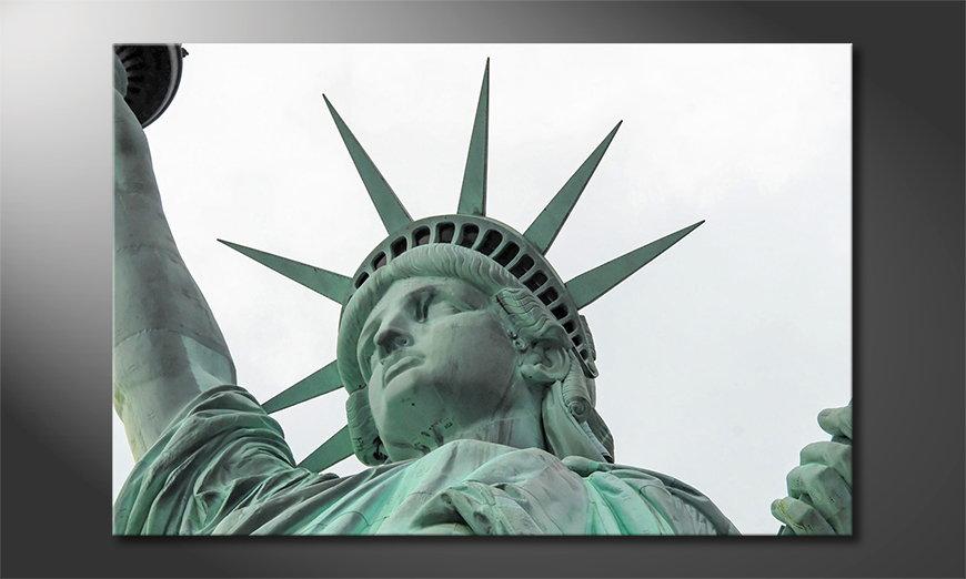 El cuadro moderno Liberty