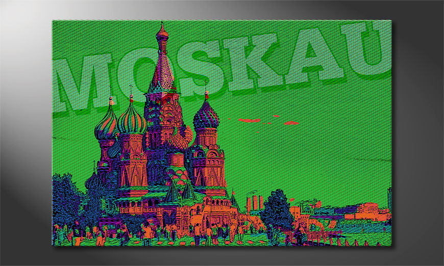 El cuadro moderno Moscú