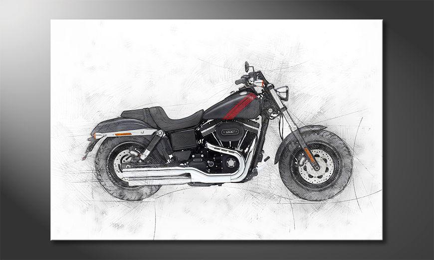 El cuadro moderno Motorbike uno