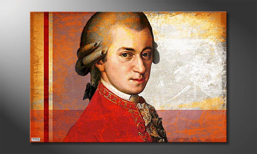 El cuadro moderno Mozart