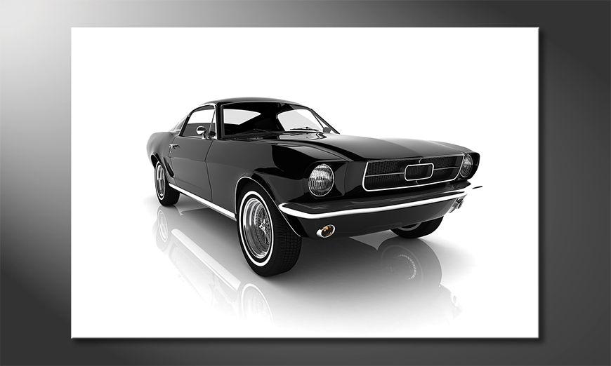 El cuadro moderno Mustang