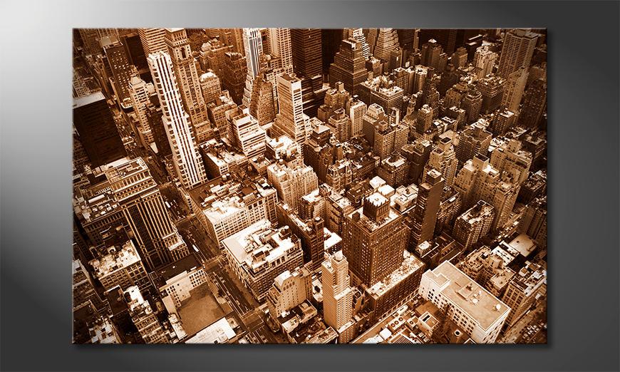 El cuadro moderno New York City