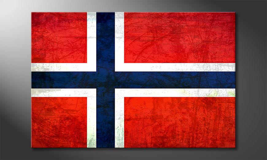 El cuadro moderno Norvegia