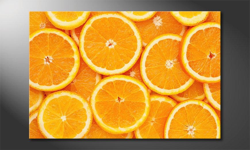 El cuadro moderno Oranges