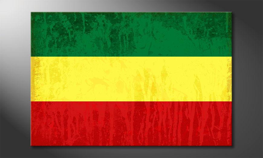 El cuadro moderno Panafrica