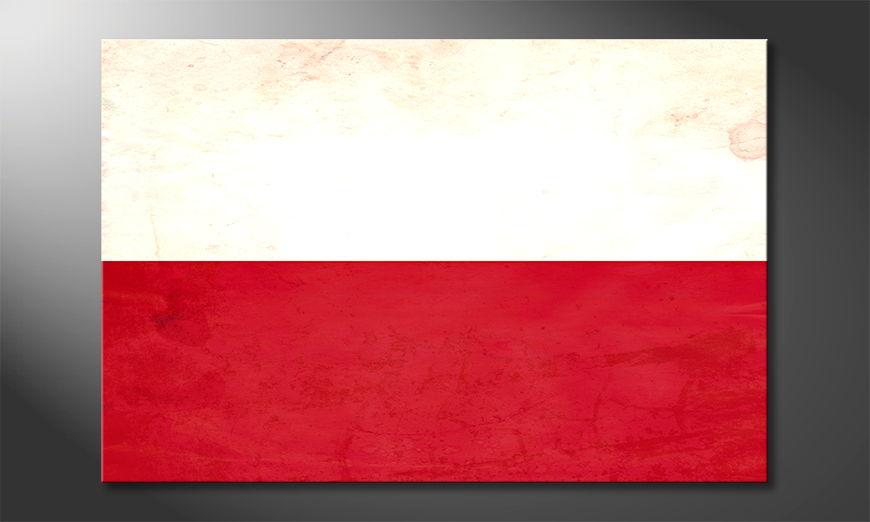 El cuadro moderno Polonia