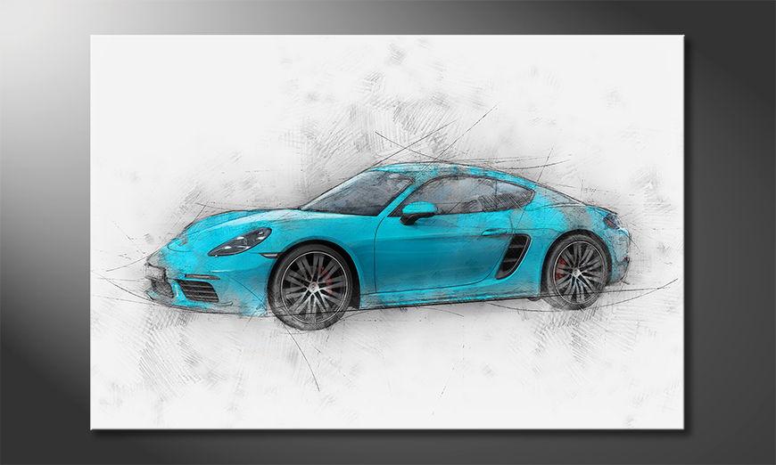 El cuadro moderno Pure Speed
