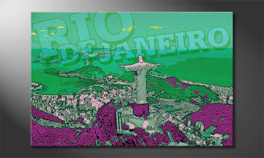 El cuadro moderno Rio