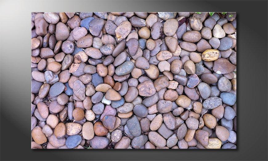 El cuadro moderno Rock Texture
