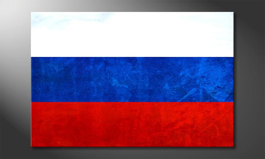 El cuadro moderno Rusia