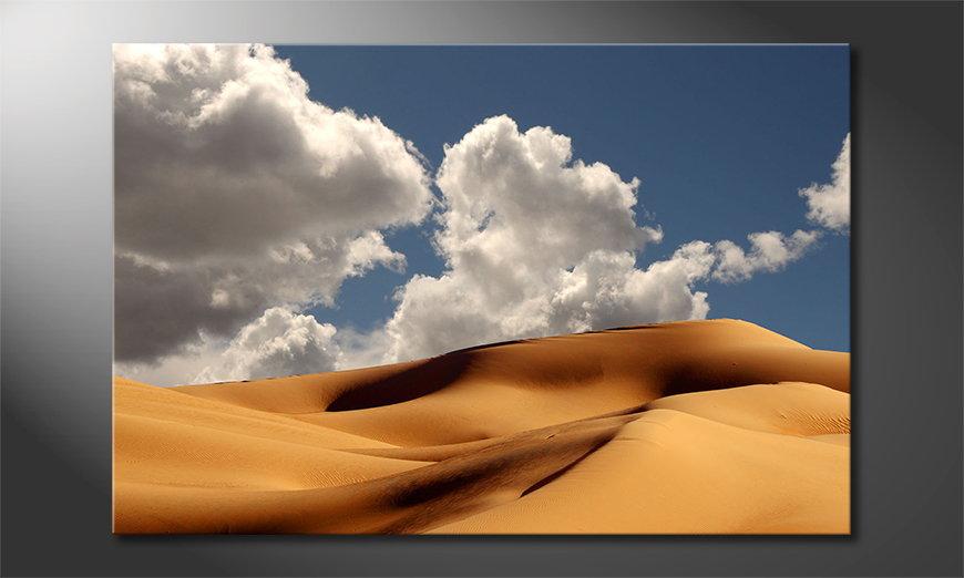 El cuadro moderno Sand Dunes