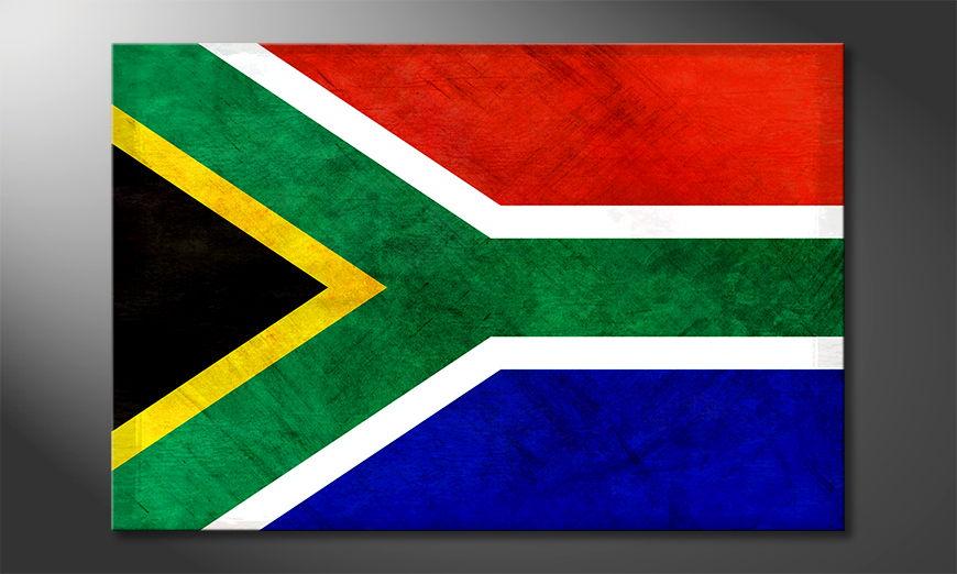 El cuadro moderno Sudáfrica