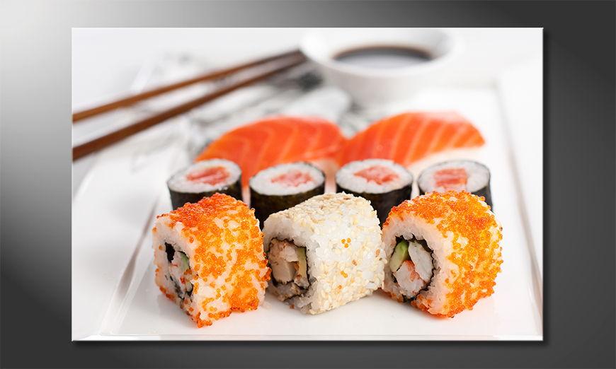 El cuadro moderno Sushi