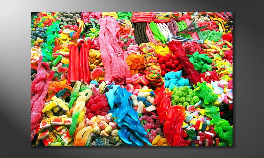 El cuadro moderno Sweets