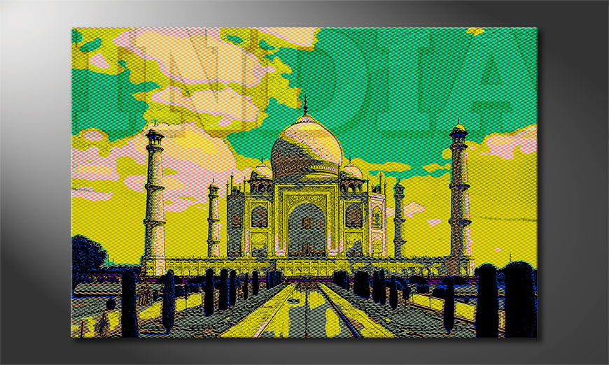 El cuadro moderno Taj Mahal