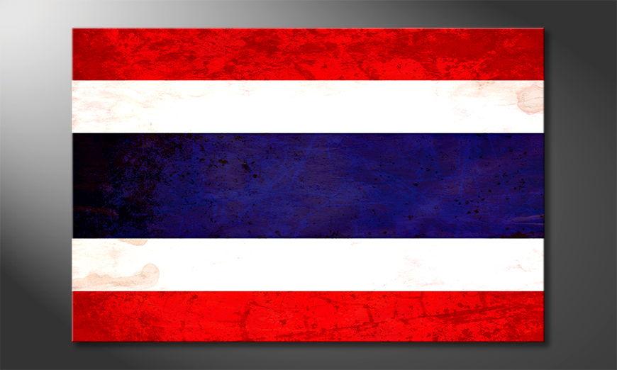 El cuadro moderno Thailandia