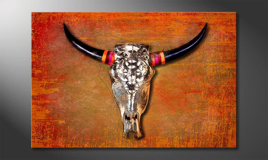El cuadro moderno The Mexican