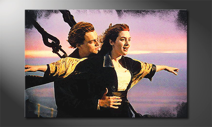 El cuadro moderno Titanic