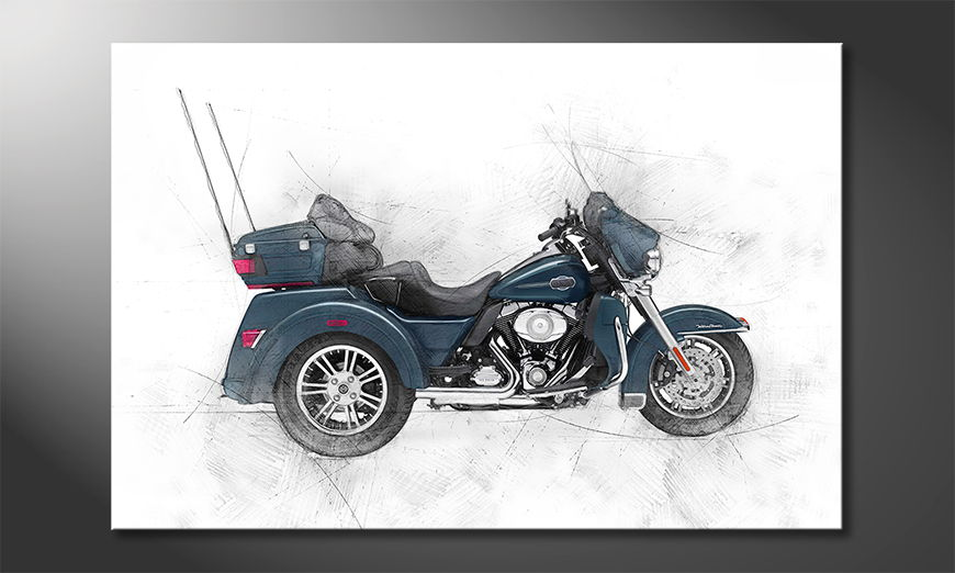El cuadro moderno Trike