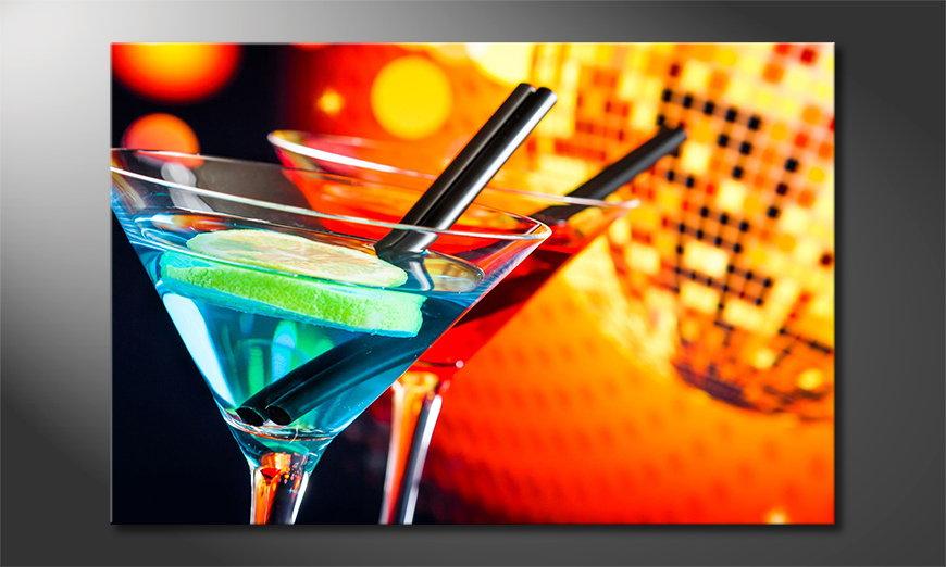 El cuadro moderno Two Cocktails