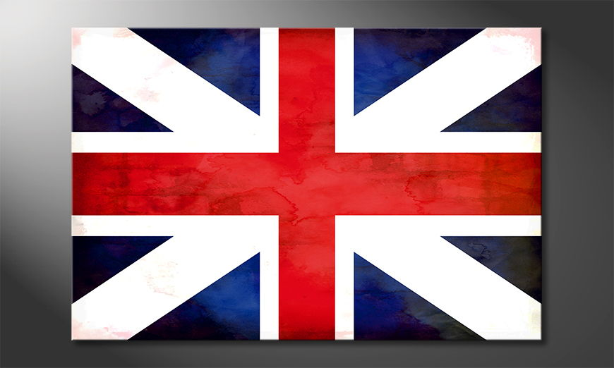 El cuadro moderno Union Jack