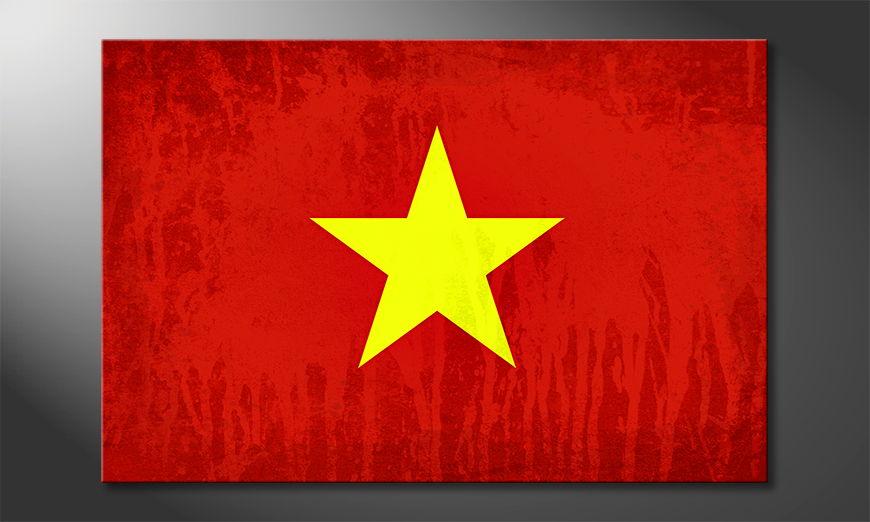 El cuadro moderno Vietnam