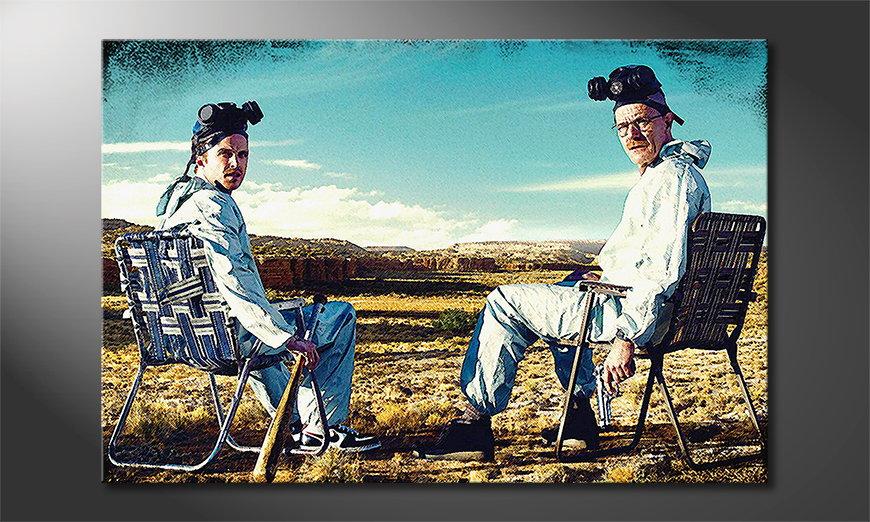 El cuadro moderno Walter y Jesse