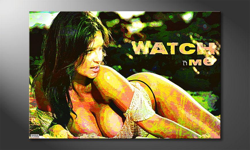 El cuadro moderno Watch Me