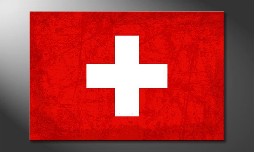 El cuadro moderno Zwitserland