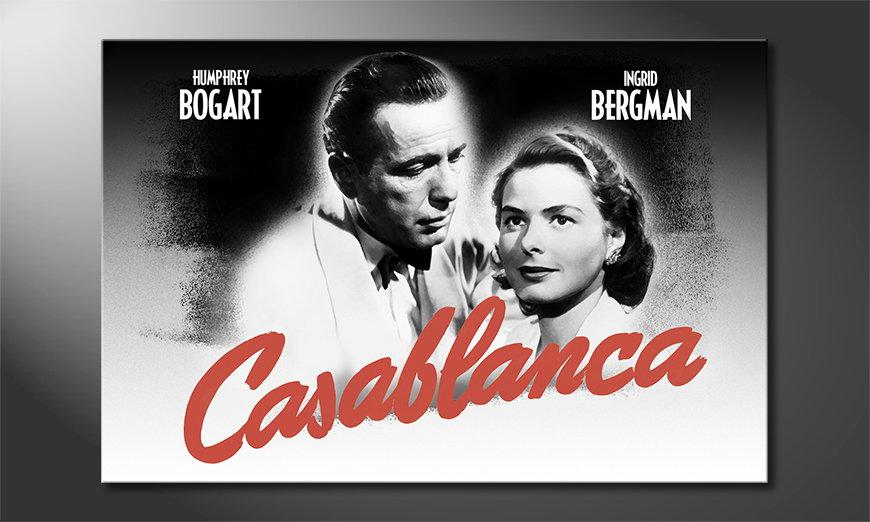 El popular cuadro Casablanca