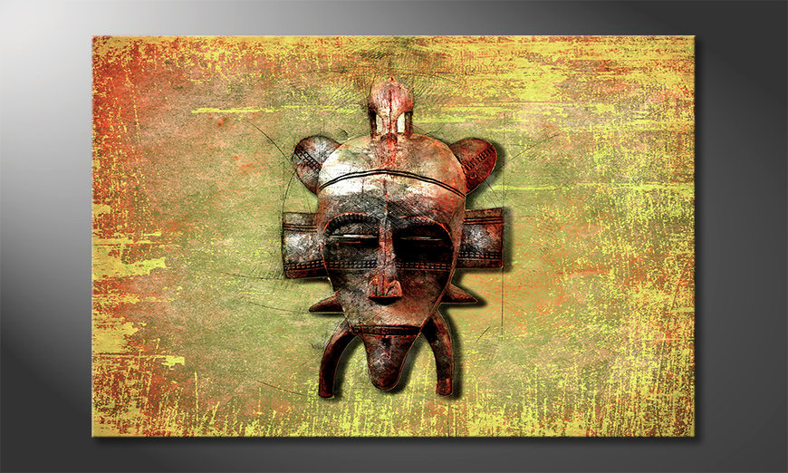 Impresión de arte moderno Tribal Lord