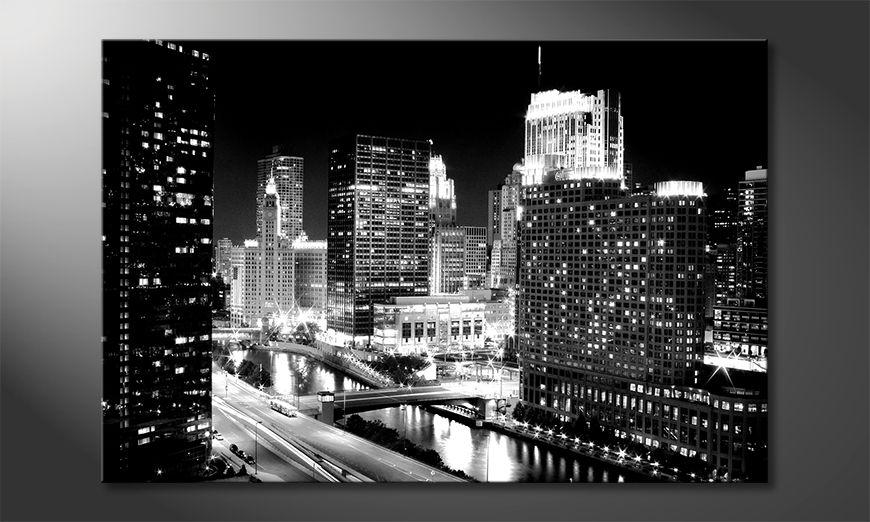 Impresión de la lona East River