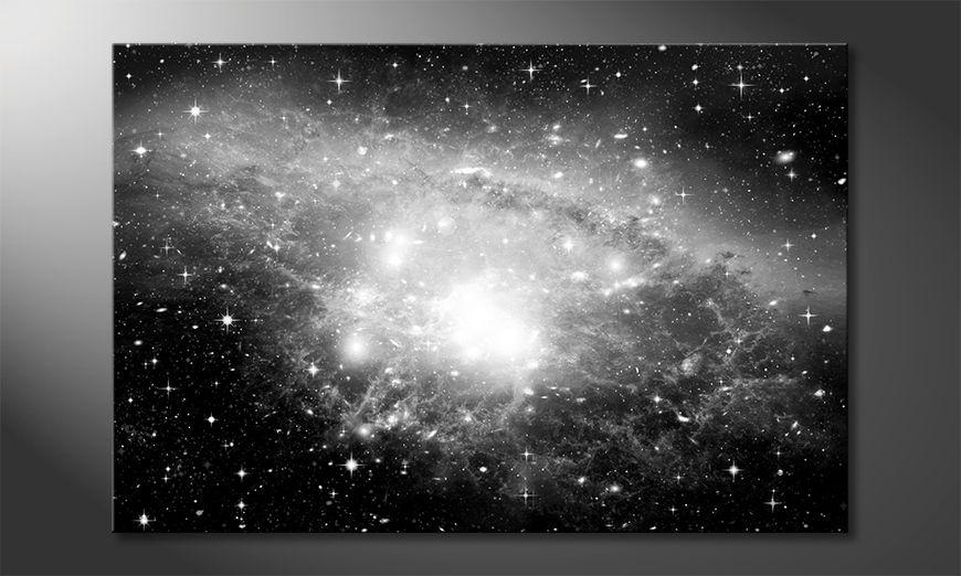 Impresión de la lona Galaxy
