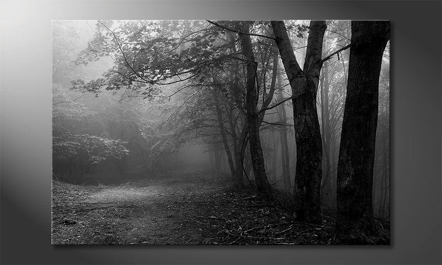 Impresión de la lona Green Forest